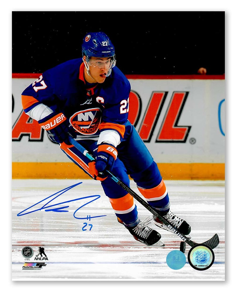 Anders Lee New York Islanders Autographed Hockey 8x10 Photo