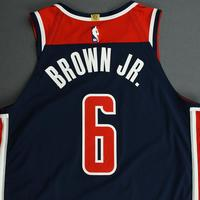 Troy Brown Jr. - Washington Wizards - Game-Worn Statement Edition Jersey - 2019-20 NBA Season
