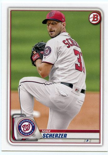 Photo of 2020 Bowman #53 Max Scherzer