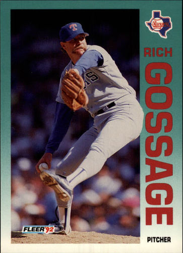 Photo of 1992 Fleer #305 Rich Gossage