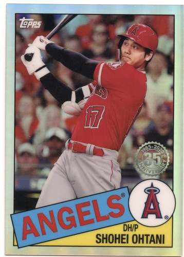 Photo of 2020 Topps Chrome '85 Topps #85TC7 Shohei Ohtani