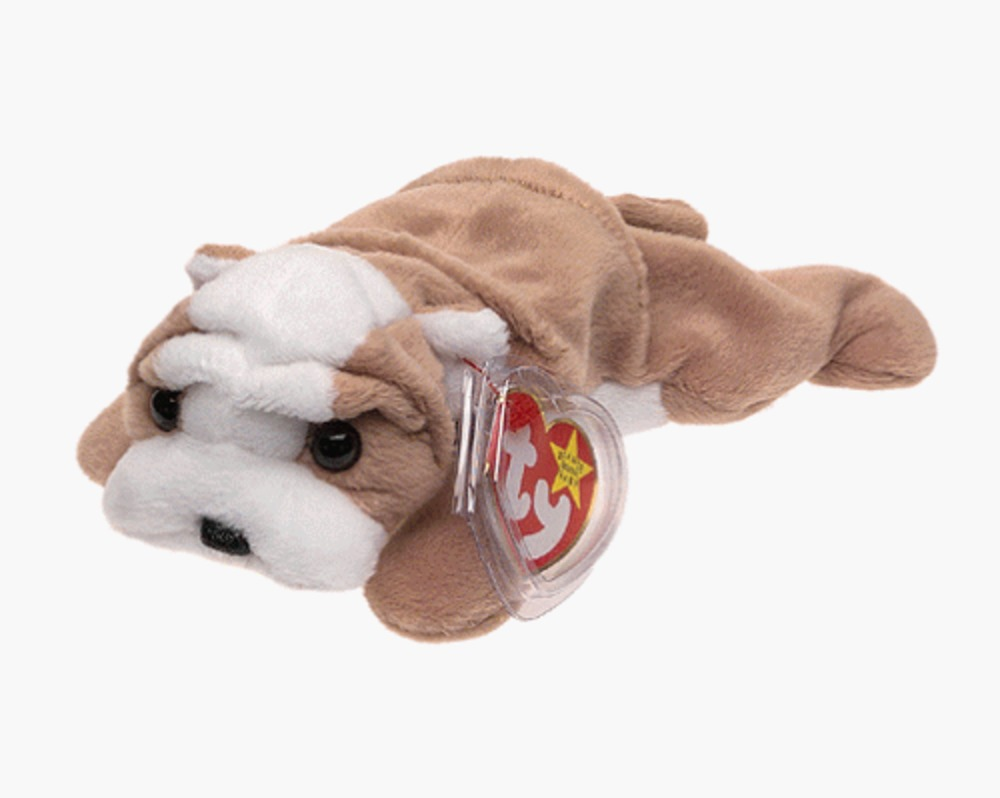 Photo of Ty Beanie Babies - Wrinkles the Dog - Retired