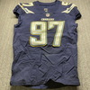 STS - Chargers Jerry Attaochu Game Used Jersey (11/19/17) Size 44