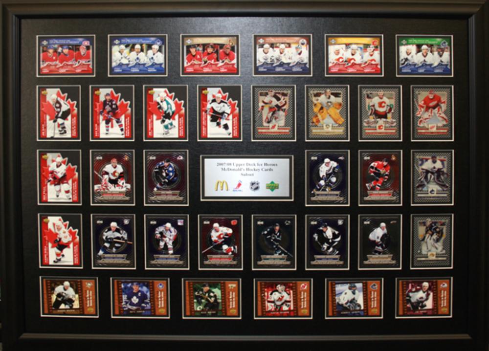 McDonalds Hockey Cards 2007-2008 - Framed Sub Set - NHL Auctions