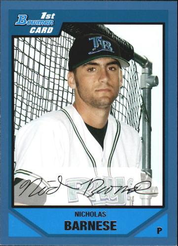 Photo of 2007 Bowman Draft Draft Picks Blue #BDPP13 Nicholas Barnese