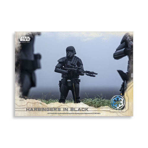 Harbingers in Black 2016 Star Wars Rogue One Series One Base Poster - # to 99