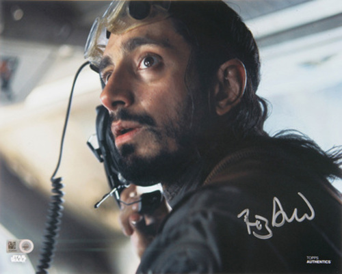 Riz Ahmed as Bodhi Rook 8x10 Autographed in Silver Ink Photo