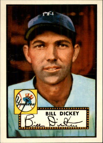 Photo of 1983 Topps 1952 Reprint #400 Bill Dickey CO