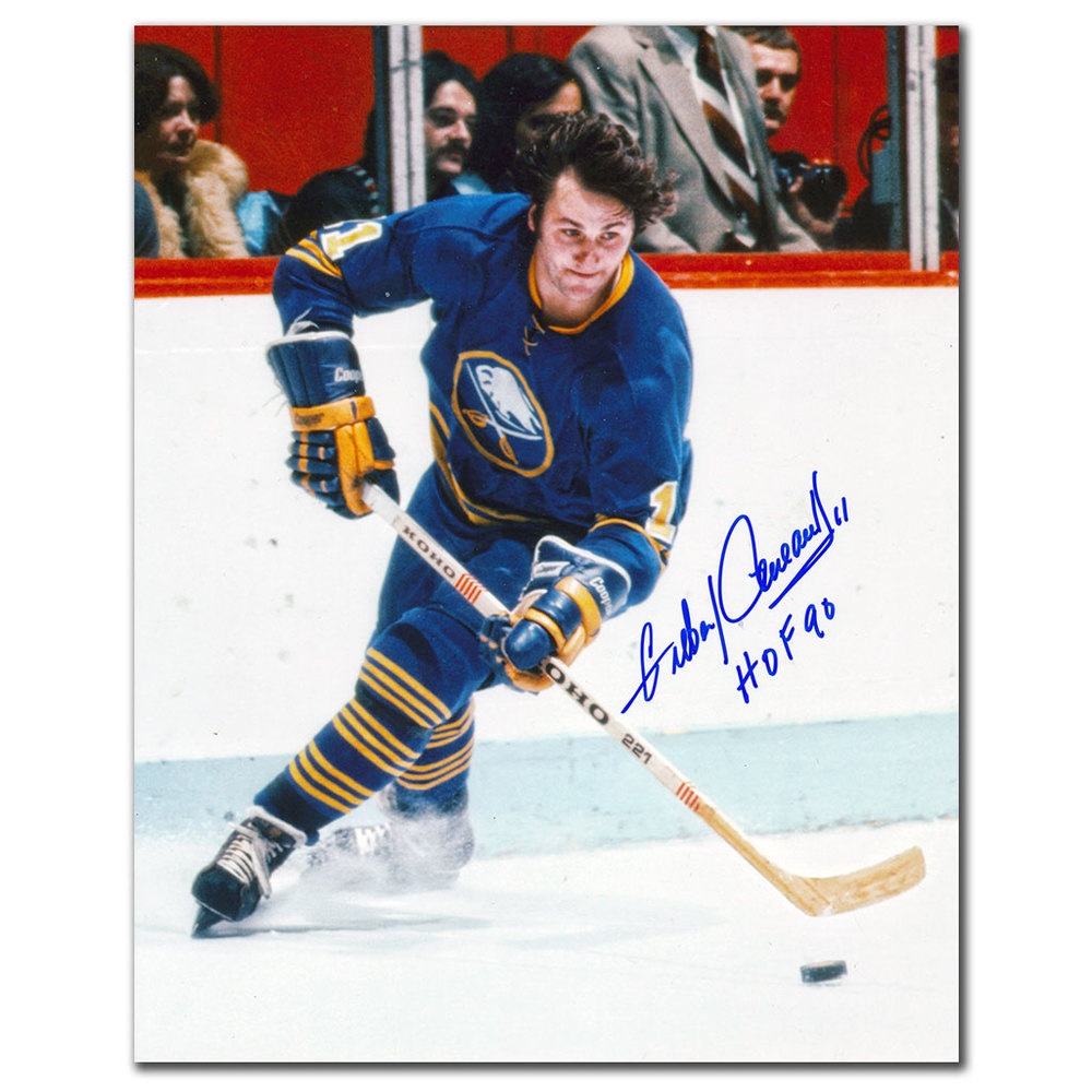 Gilbert Perreault Buffalo Sabres BREAKOUT Autographed 8x10