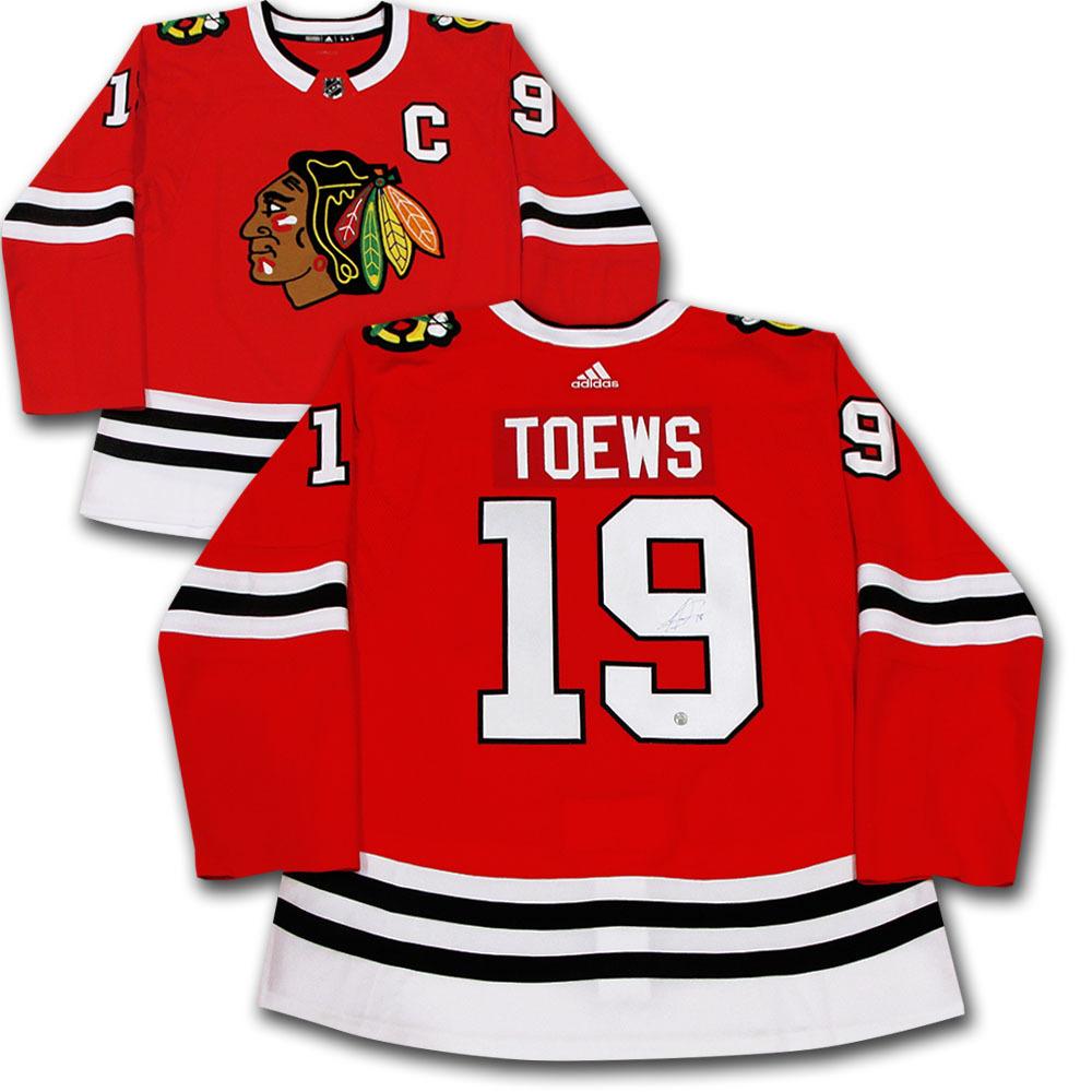 Jonathan Toews Autographed Chicago Blackhawks adidas Pro Jersey