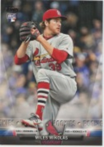 Photo of 2018 Topps Update Salute #S30 Miles Mikolas