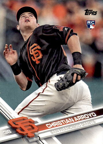 Photo of 2017 Topps Update #US25A Christian Arroyo RC