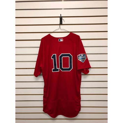 Photo of Ron Roenicke Team-Issued World Series Home Alternate Jersey