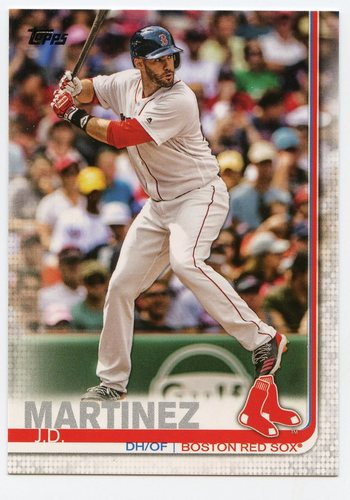 Photo of 2019 Topps #77 J.D. Martinez