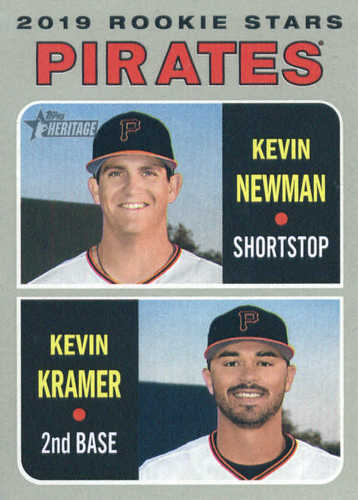 Photo of 2019 Topps Heritage #372 Kevin Newman RC/Kevin Kramer RC