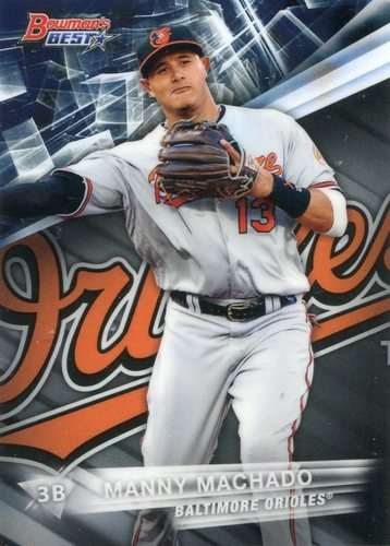 Photo of 2016 Bowman's Best #26 Manny Machado