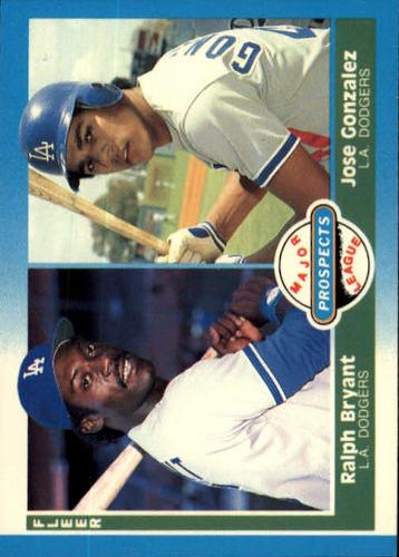 Photo of 1987 Fleer #649 Jose Gonzalez RC/Ralph Bryant RC