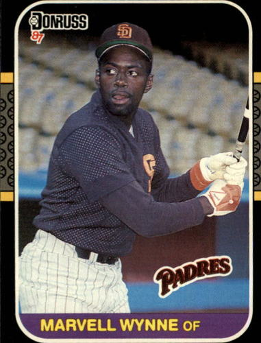 Photo of 1987 Donruss #411 Marvell Wynne