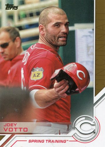 Photo of 2017 Topps Salute #S167 Joey Votto