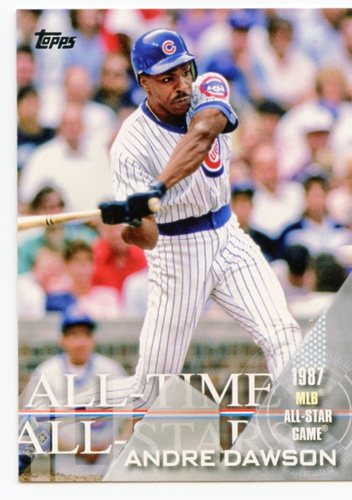 Photo of 2017 Topps All Time All Stars #ATAS61 Andre Dawson