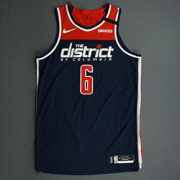 Image of Troy Brown Jr. - Washington Wizards - Game-Worn Statement Edition Jersey - 2019-20 NBA Season