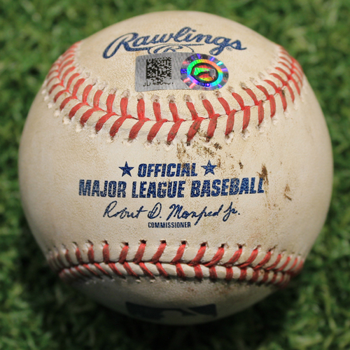 Photo of Game-Used Baseball: Leury Garcia 378th Career Hit (CWS @ KC 8/1/20)
