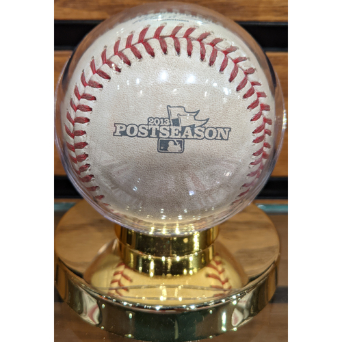 2013 ALCS Game 6 October 19, 2013 Red Sox vs. Tigers Game Used Baseball