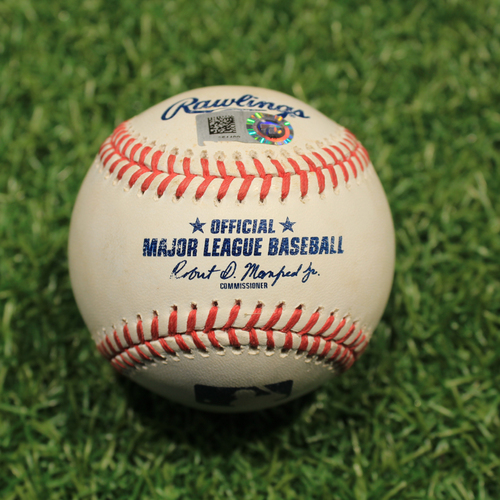 Game-Used Baseball: Miguel Cabrera 2866th Career Hit (9/26/20 DET @ KC)