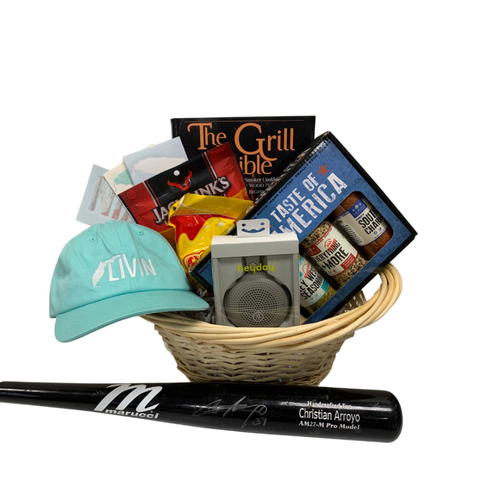 Photo of Christian Arroyo Favorite Things Basket