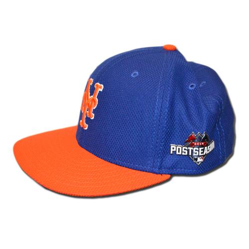 Michael Cuddyer  23 - Game Used Blue and Orange Postseason Hat - Worn on  NLDS 4d8203d3d2b