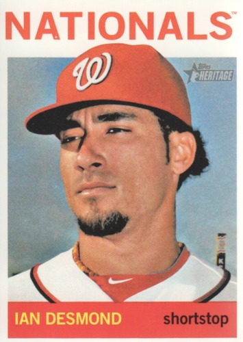 Photo of 2013 Topps Heritage #46A Ian Desmond