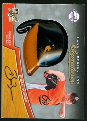 Photo of 2007 Sweet Spot #109 Brian Burres AU (RC)