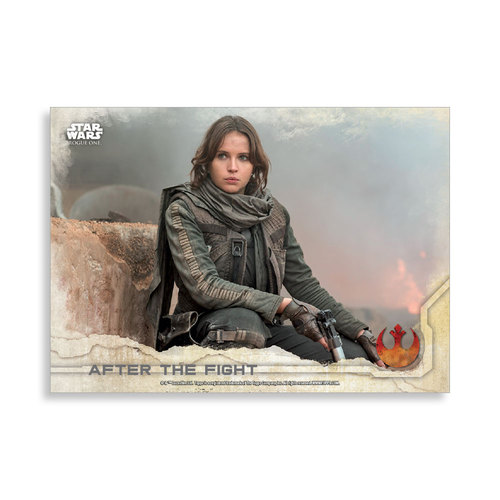 After the fight 2016 Star Wars Rogue One Series One Base Poster - # to 99