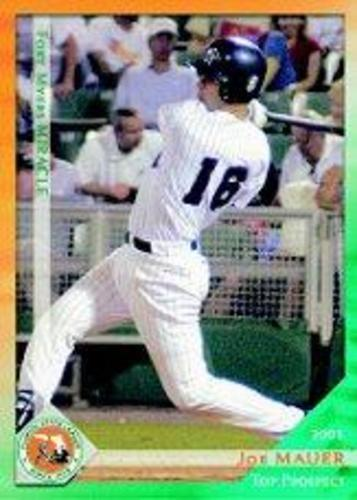 Photo of 2003 Florida State League Top Prospects Grandstand #17 Joe Mauer