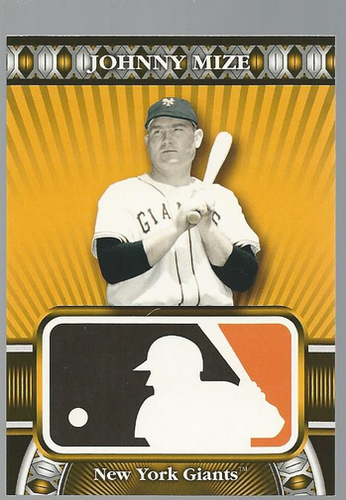 Photo of 2010 Topps Logoman HTA #33 Johnny Mize