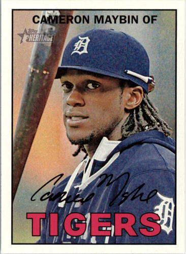 Photo of 2016 Topps Heritage #53 Cameron Maybin