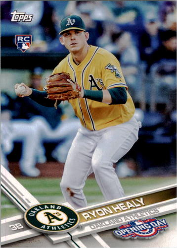 Photo of 2017 Topps Opening Day #159 Ryon Healy Rookie Card
