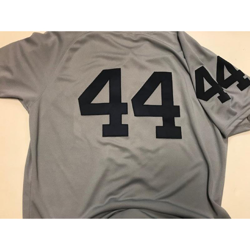 Photo of Game-Used 1968 World Series 50th Anniversary Jersey: Daniel Norris
