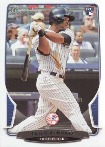 Photo of 2013 Bowman Draft #9 Zoilo Almonte RC