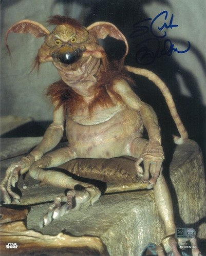 Mark Dodson As Salacious B. Crumb 8x10 Autographed in Blue Ink Photo