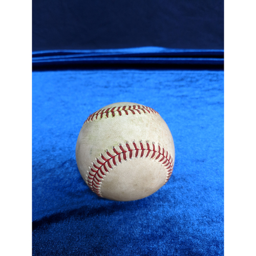 Photo of Game Used Baseball: Pitcher: Luke Weaver, Batter: A.J. Pollock (Single)- 3-31-2019 vs. ARI