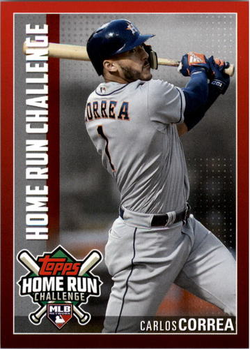 Photo of 2019 Topps Home Run Challenge #HRC19 Carlos Correa