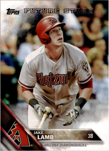 Photo of 2016 Topps #288 Jake Lamb FS