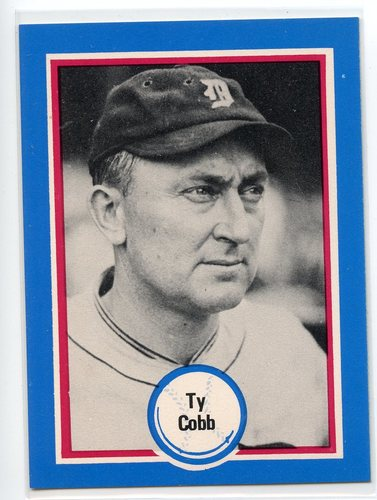 Photo of 1976 Shakey's Pizza #1 Ty Cobb
