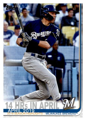 Photo of 2019 Topps Update #US216 Christian Yelich HL CL