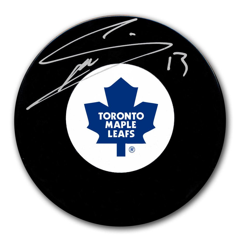 Mats Sundin Toronto Maple Leafs Autographed Puck