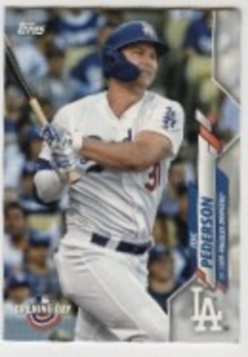 Photo of 2020 Topps Opening Day #9 Joc Pederson