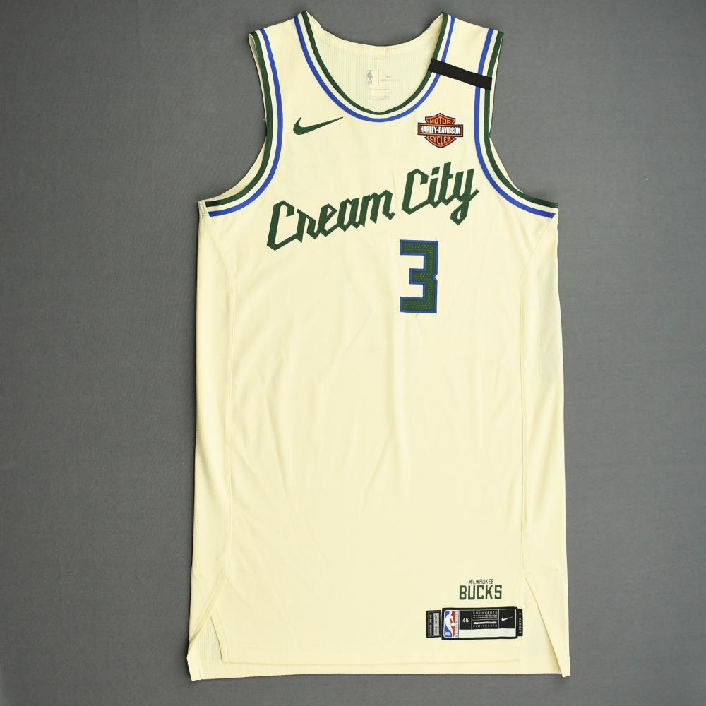 George Hill - Milwaukee Bucks - Game-Worn City Edition Jersey - 2019-20 NBA Season Restart with Social Justice Message