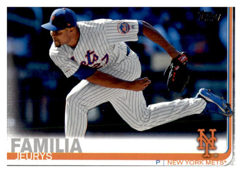 Photo of 2019 Topps Update #US156 Jeurys Familia