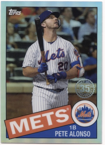 Photo of 2020 Topps Chrome '85 Topps #85TC18 Pete Alonso